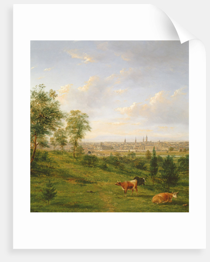 View of Melbourne by Henry Gritten