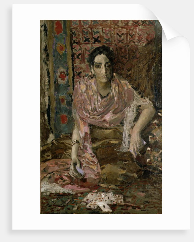 The Fortune Teller by Mikhail Aleksandrovich Vrubel