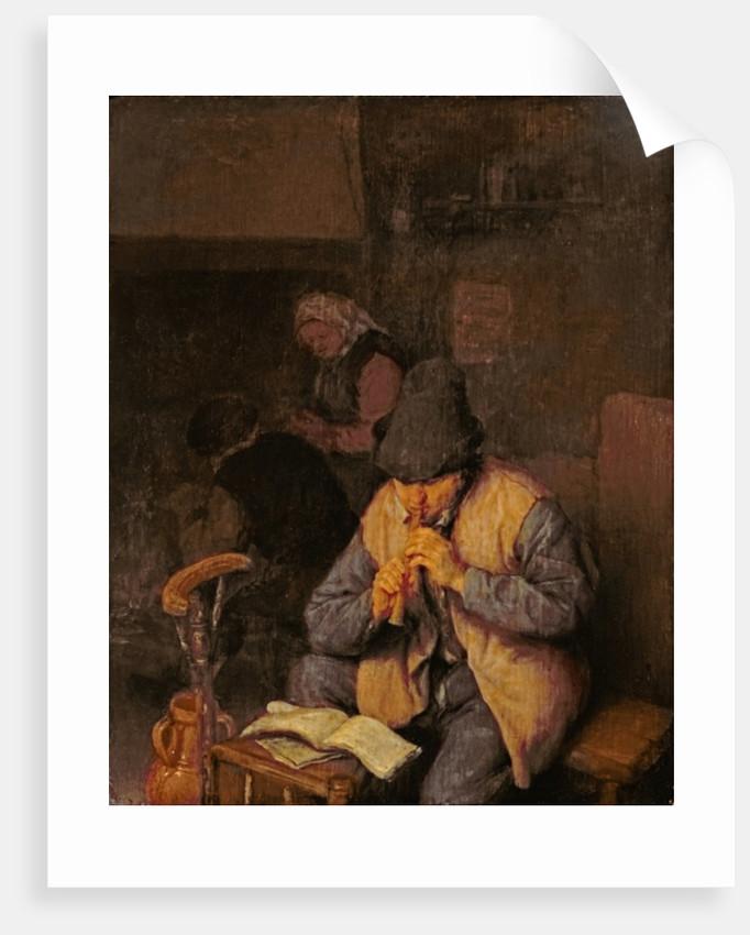 The Flute Player, 17th century by Adriaen Jansz. van Ostade