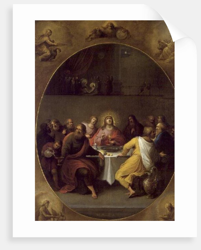 The Last Supper by Frans II and III Francken