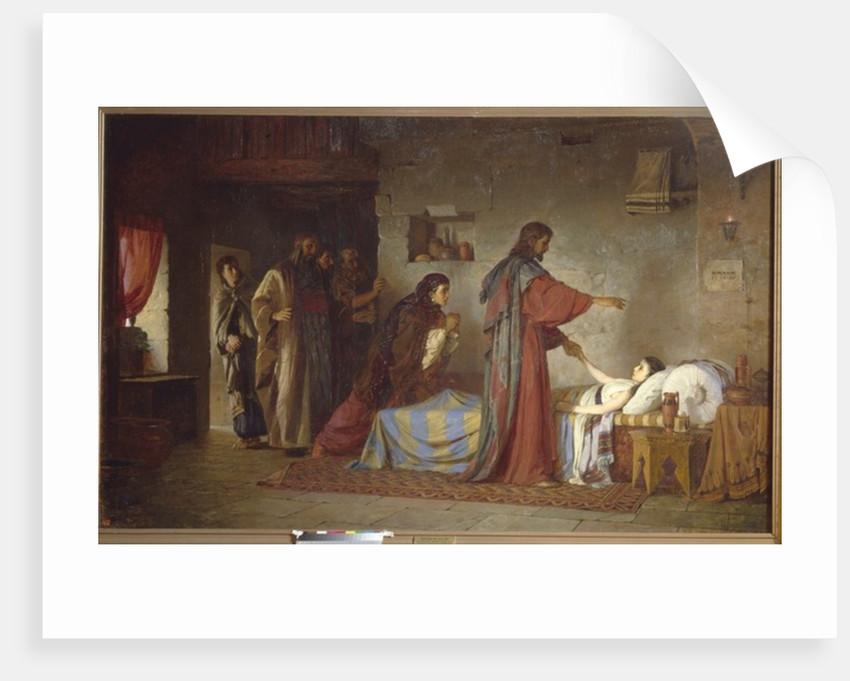 The Raising of Jairus' daughter by Vasilij Dmitrievich Polenov