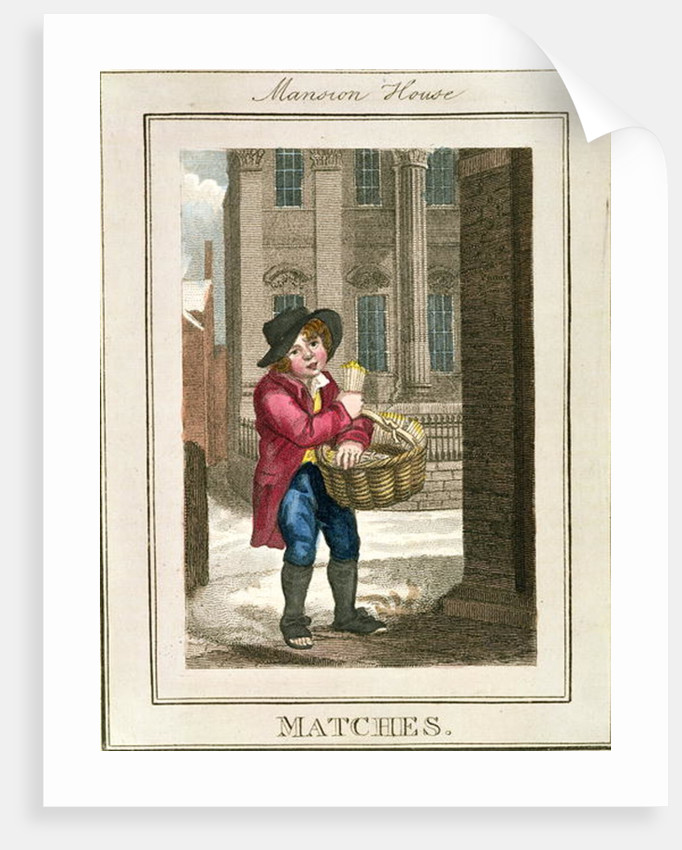 Matches, Mansion House by William Marshall Craig