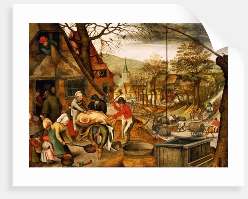 Allegory of Autumn by Pieter the Younger Brueghel
