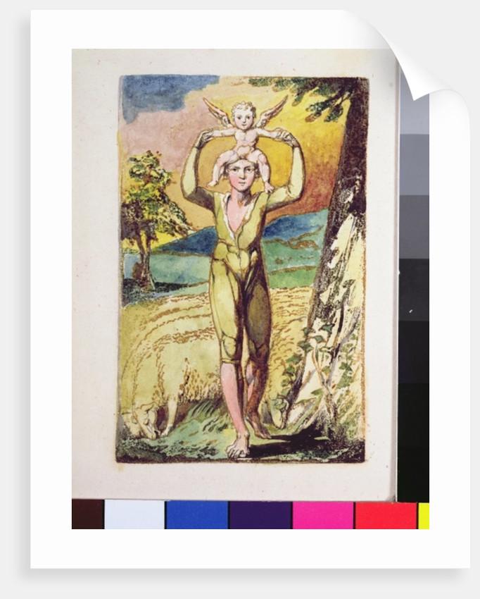 Frontispiece by William Blake