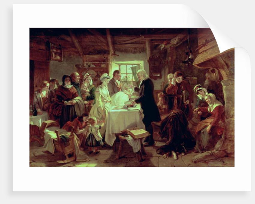 A Scottish Christening by John Phillip