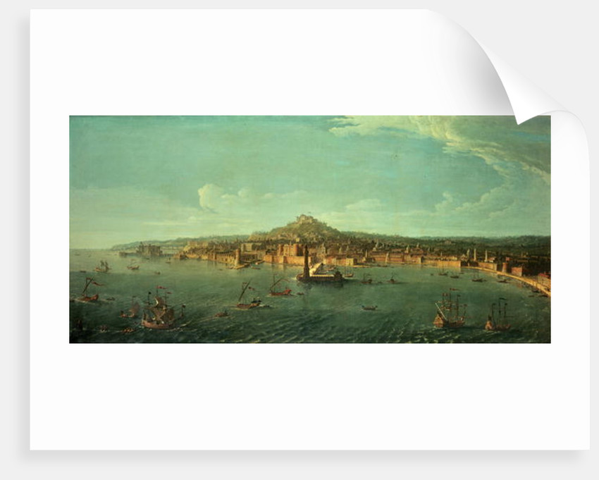 A View of Naples, 17th century by Gaspar van Wittel