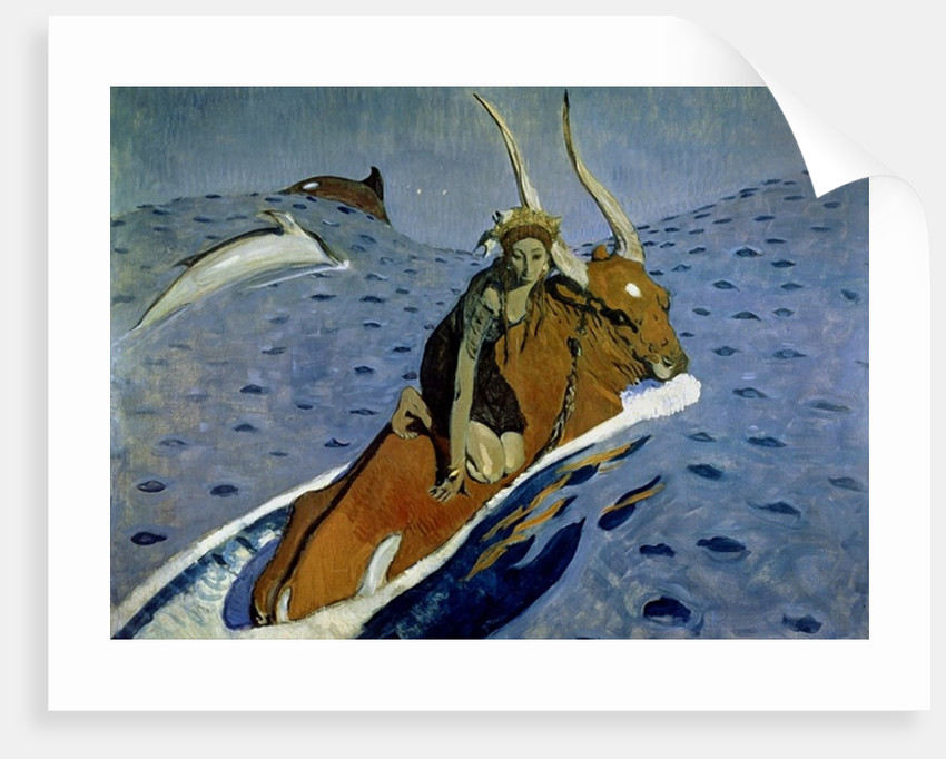 The Rape of Europa by Valentin Aleksandrovich Serov