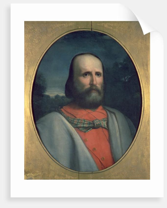Portrait of Giuseppe Garibaldi by Italian School