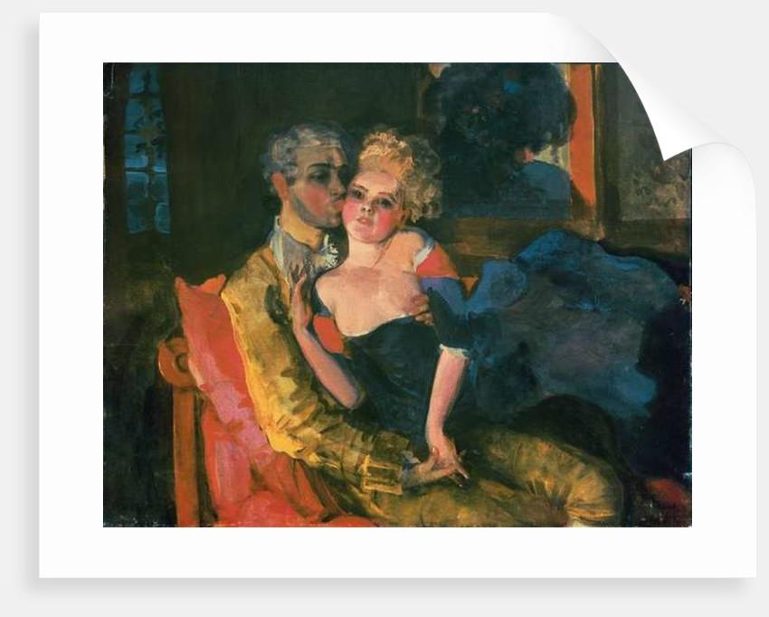 Love, 1910 by Konstantin Andreevic Somov