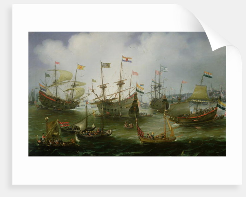 The Return to Amsterdam of the Second Expedition to the East Indies on 19th July 1599 by Andries van Eertvelt