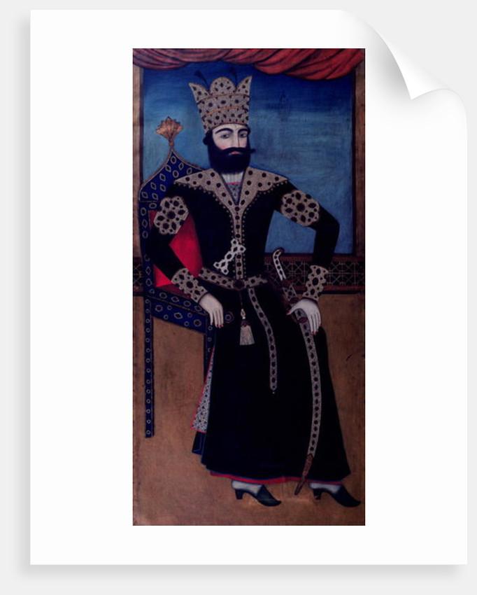 Portrait of Fath-Ali, Shah of Iran (reigned 1797-1834) by Iranian School