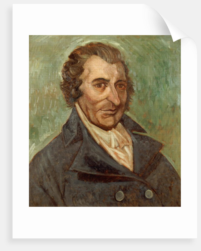 Portrait of Thomas Paine by A. Easton