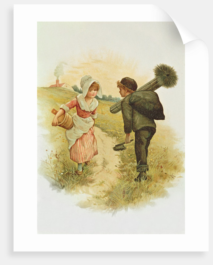 The Sweep and the Milkmaid by Anonymous