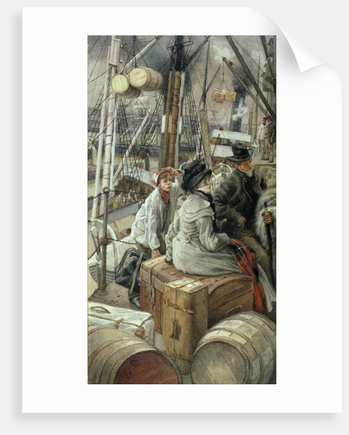 By Water by James Jacques Joseph Tissot