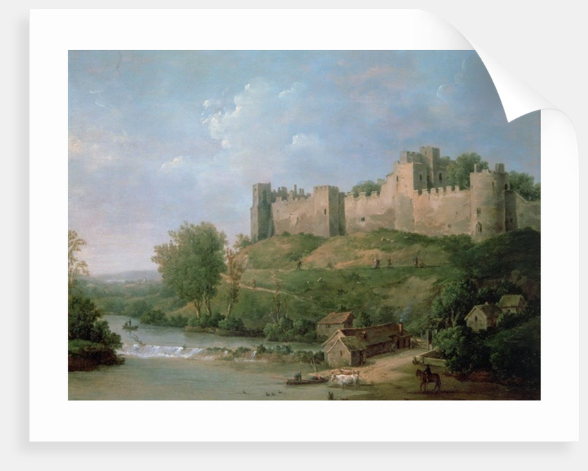 Ludlow Castle by William Marlow