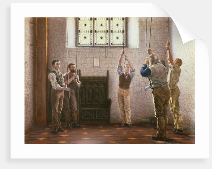 Bell Ringers by Henry Ryland