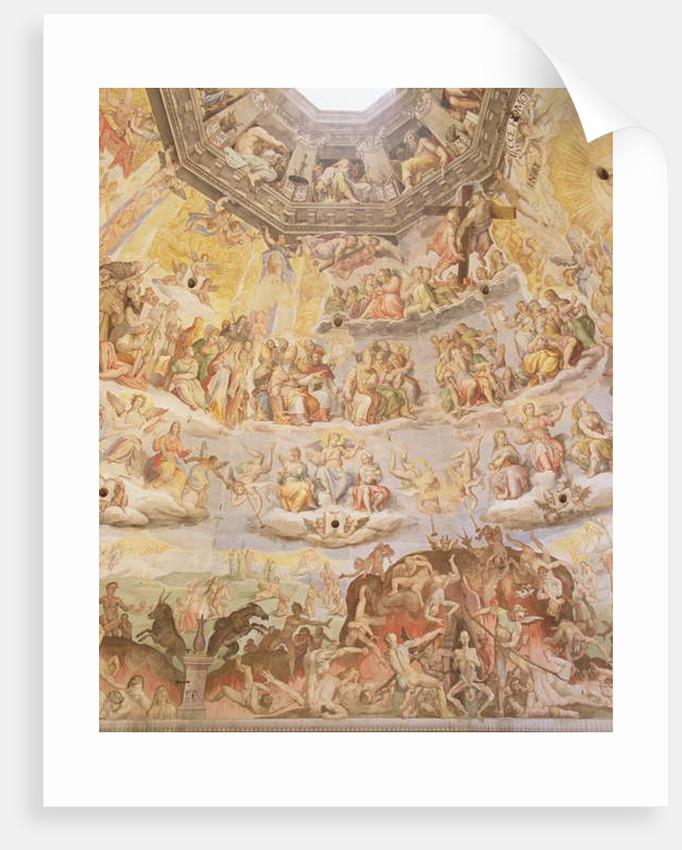 The Last Judgement by Giorgio and Zuccari Federico Vasari