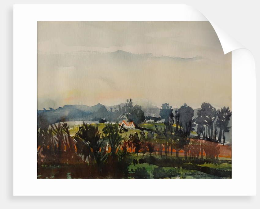 House through Trees by Brenda Brin Booker