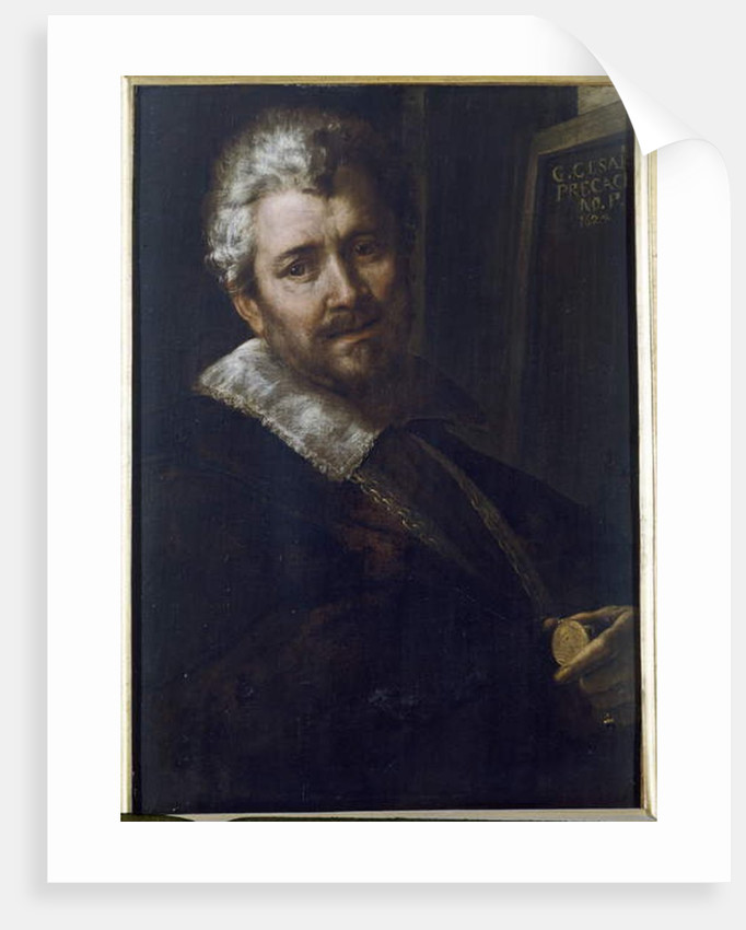 Self Portrait, 1624 by Giulio Cesare Procaccini