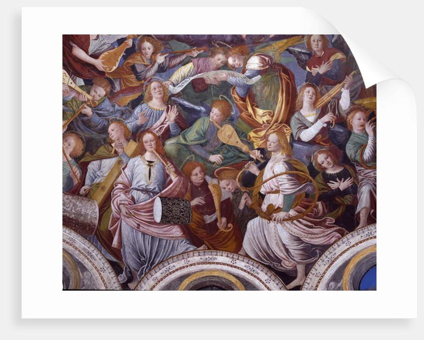 The Concert of Angels, 1534-36 by Gaudenzio Ferrari