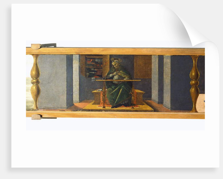St Augustine in his Study by Sandro Botticelli