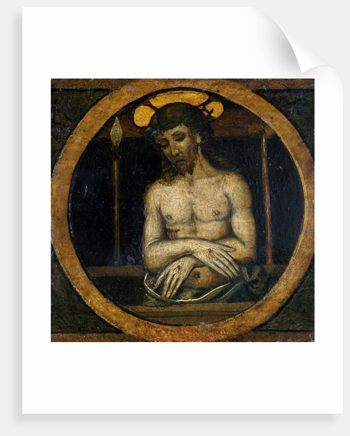 Christ Suffering by Italian School
