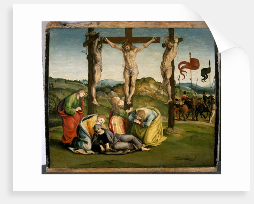 The Crucifixion, c.1507 by Luca Signorelli