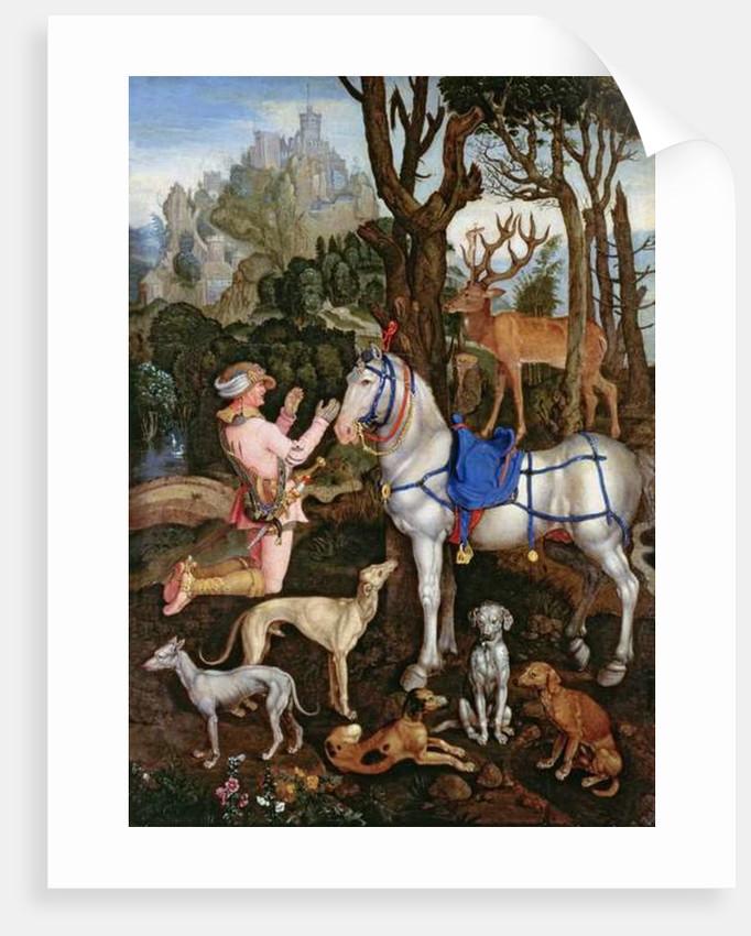 St.Hubert by Albrecht Durer or Duerer