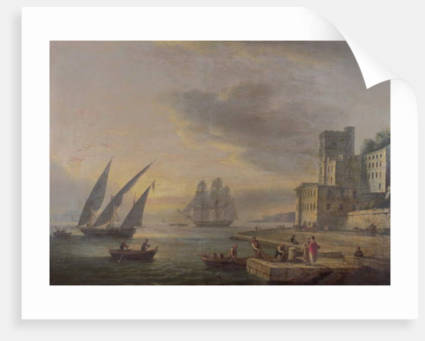 The Bay of Naples from Posillipo, c.1829 by Thomas Luny