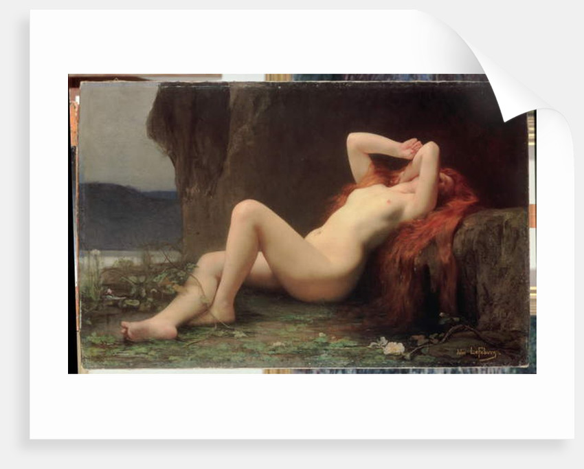 Mary Magdalene in the Cave, 1876 by Jules Joseph Lefebvre