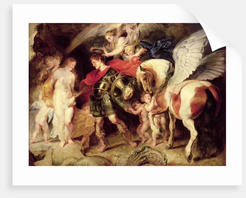 Perseus liberating Andromeda, c.1620 by Peter Paul Rubens