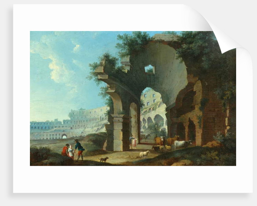 The Colosseum at Rome by Hendrik van Lint