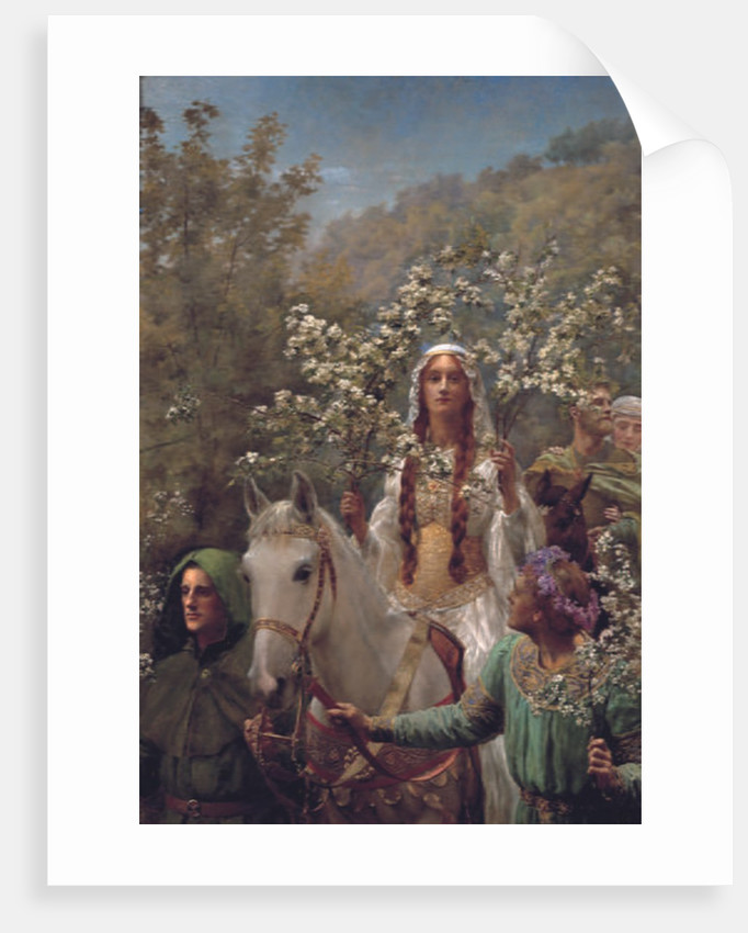 Queen Guinevere's Maying, c.1897 by John Collier