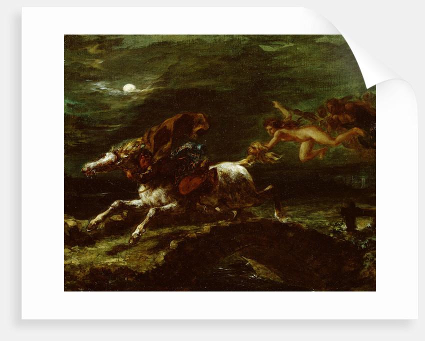 Tam O'Shanter by Ferdinand Victor Eugene Delacroix