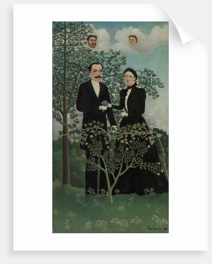 Past and Present, 1899 by Henri J.F. (1844-1910) Rousseau