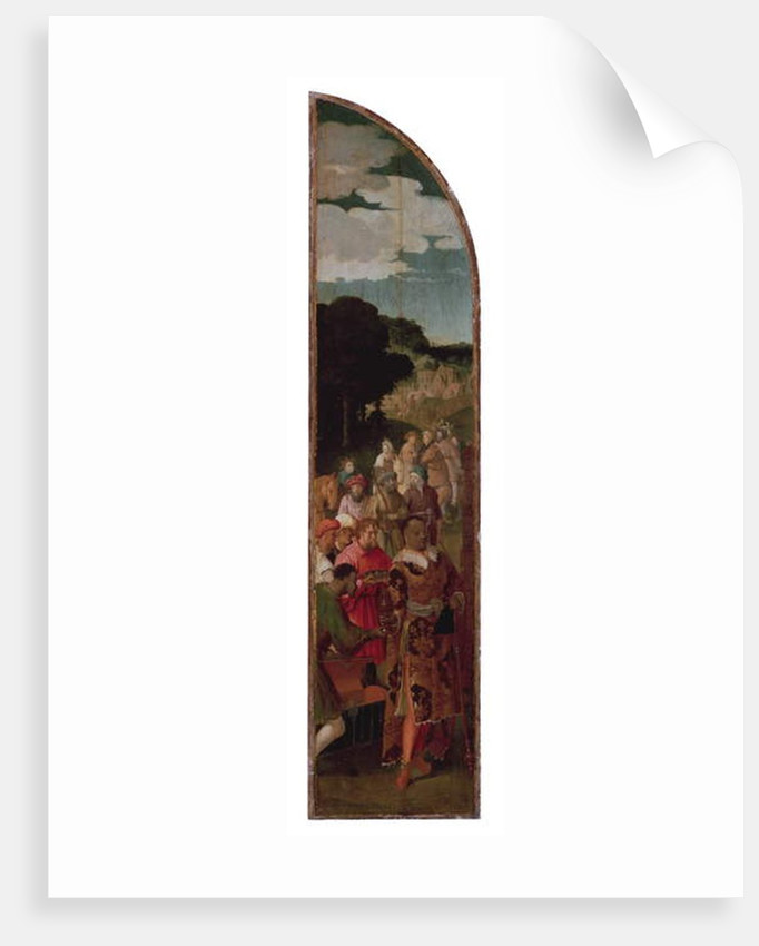 The Adoration of the Magi Triptych, c.1510 by Lucas van Leyden