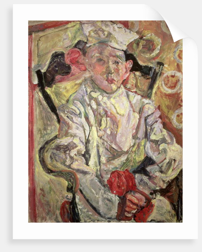The Little Pastry Cook by Chaim Soutine