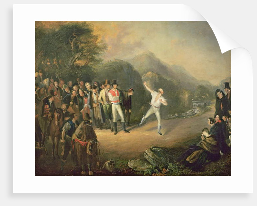 Bowling Match at Castlemary, Cloyne, 1847 by Daniel MacDonald