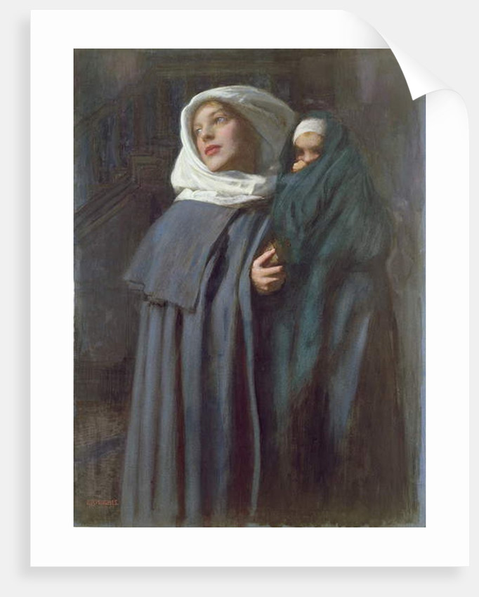 Mother and Child by Edward Robert Hughes