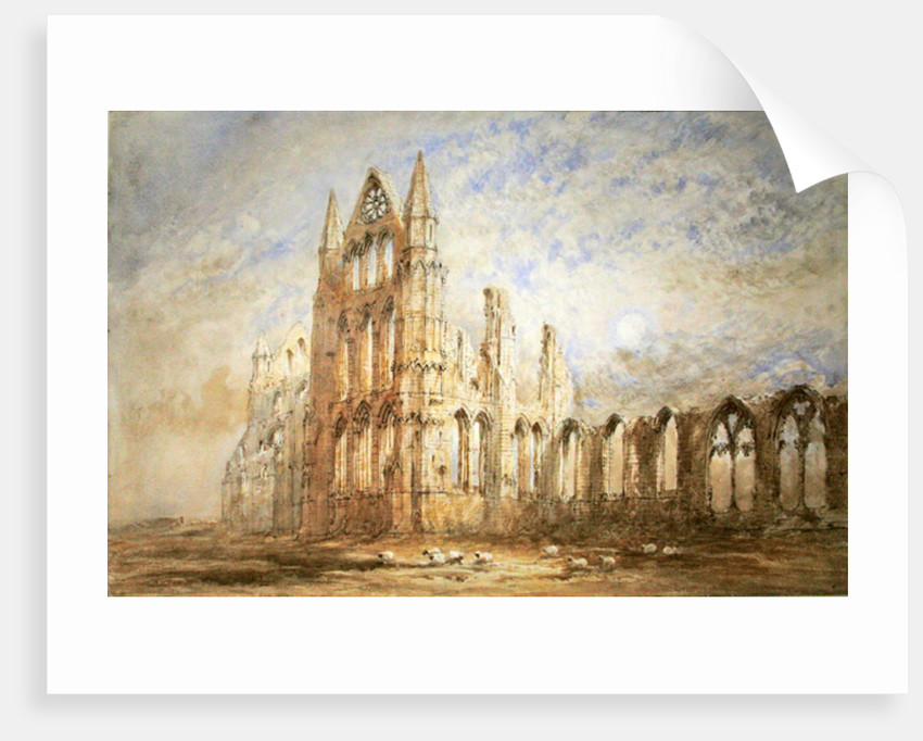 Whitby Abbey by George Weatherill