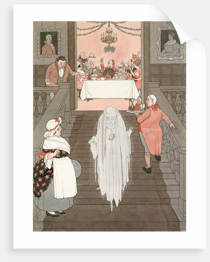 The Ghost and the Mince Pie, 1941 by William Heath Robinson