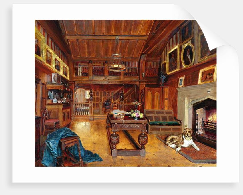 Shibden Hall, Housebody, 1877 by Henry Sykes