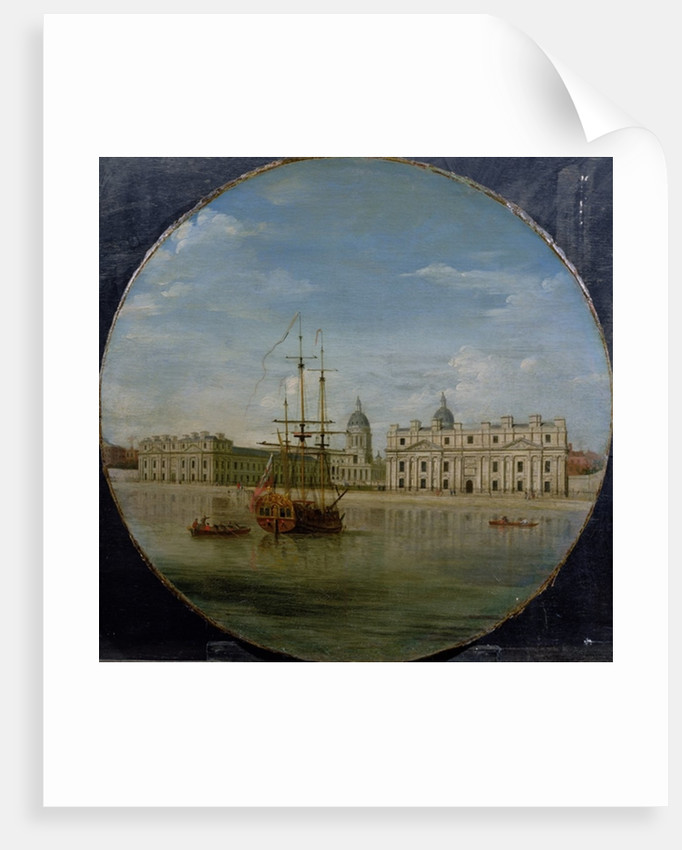 Greenwich Hospital from the River, 1748 by Samuel Wale