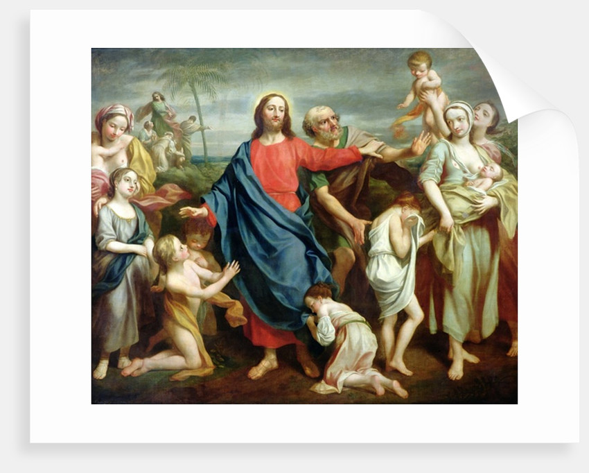 Suffer the little children to come unto me, and forbid them not by Rev. James Wills