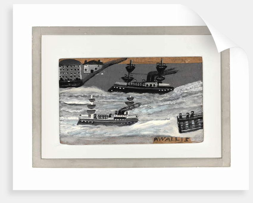 Gunboats in wartime by Alfred Wallis