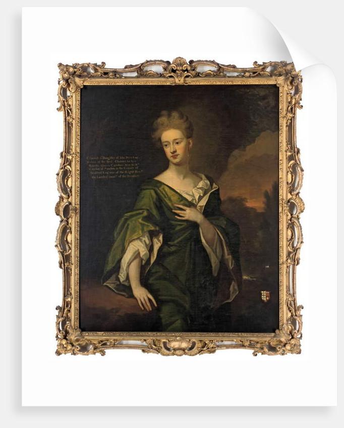 Portrait of Charlotte Clayton by Godfrey Kneller