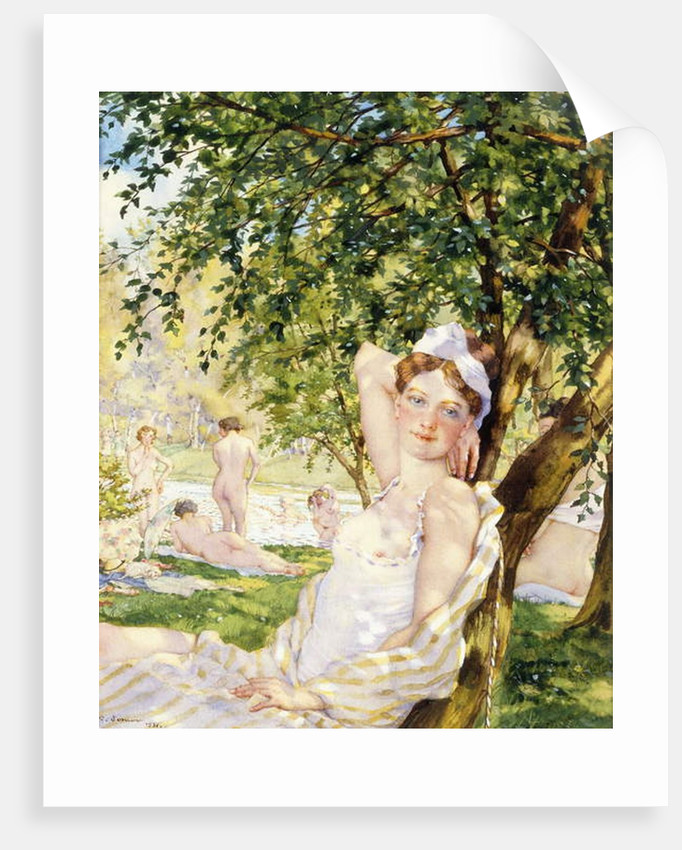 Bathers in the Sun, 1931 by Konstantin Andreevic Somov