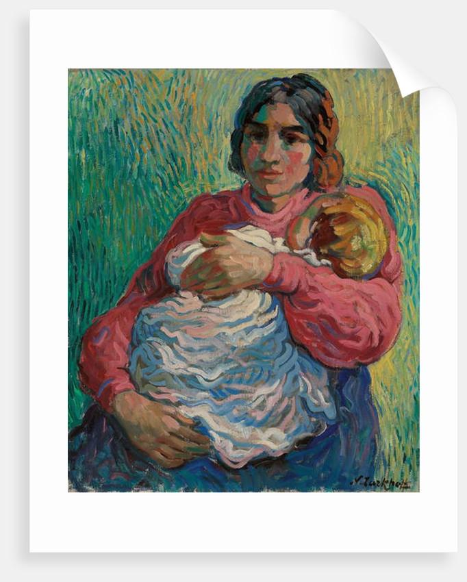 Motherhood by Alexandrovitch Tarkhoff