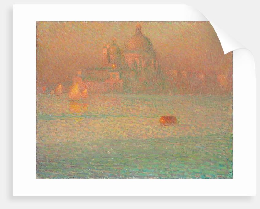 The Salute, Winter morning, Venice; La Salute, matin d'hiver, Venise, 1907 by Henri Eugene Augustin Le Sidaner
