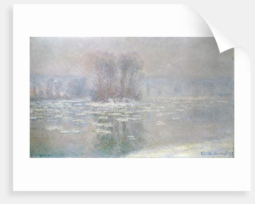 Ice at Bennecourt, 1898 by Claude Monet